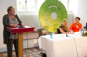 Bei der Landeswein- und -sektprämierung 2013 - Christa Guth CG Wein