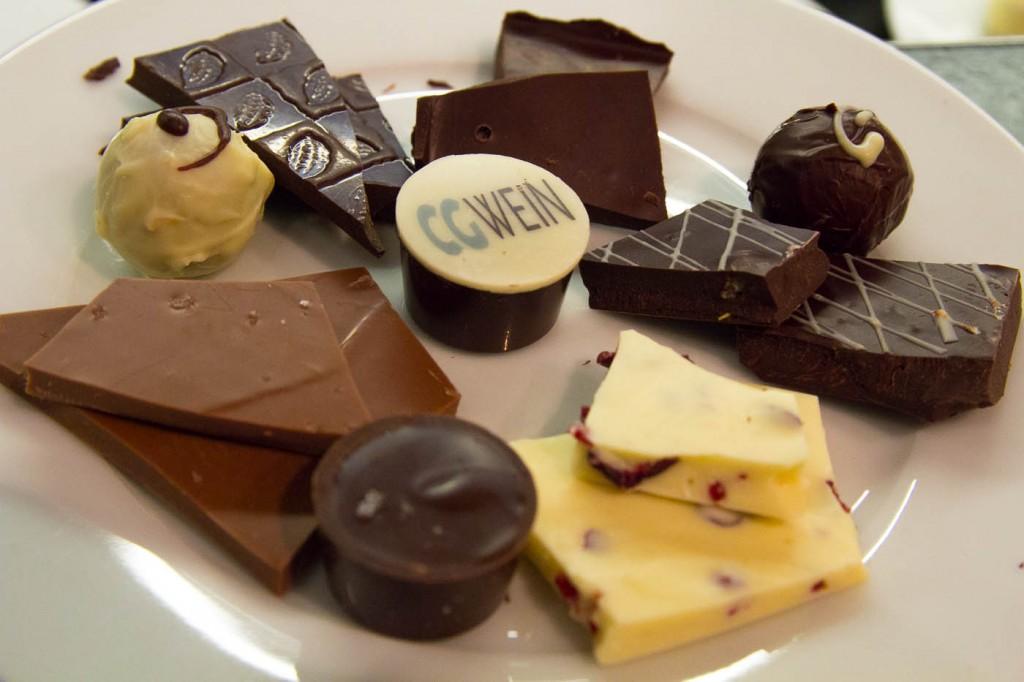 Schokoladen und Bergsträßer Weine