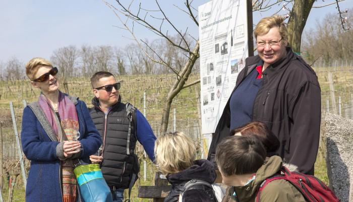 Christa Guth - Erklärungen zum Weinbau