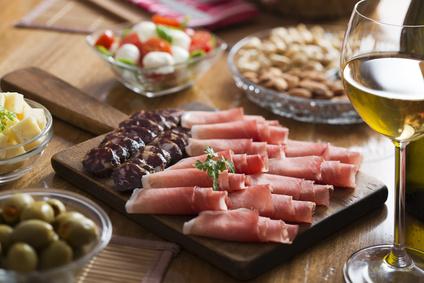 Kulinarische Weinprobe Geräuchertes und Wein
