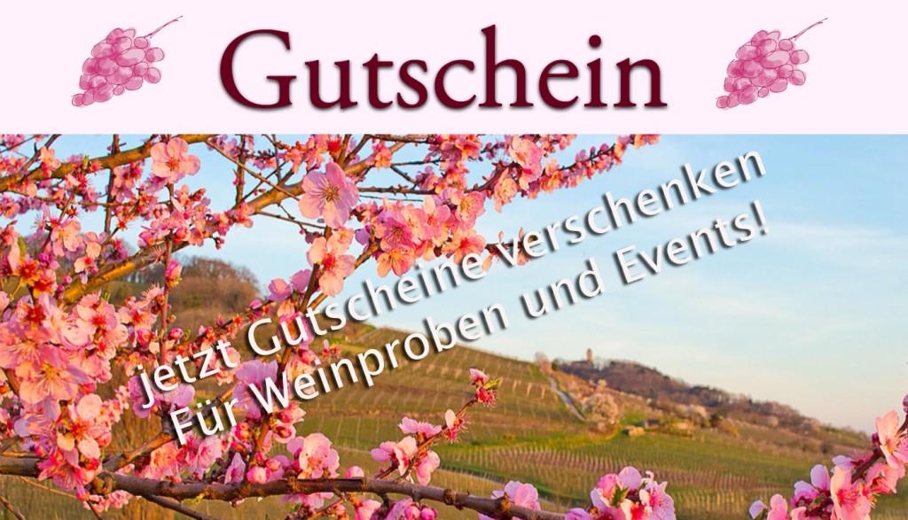 Gutscheine für Weinproben in Bensheim und an der Hessischen Bergstraße