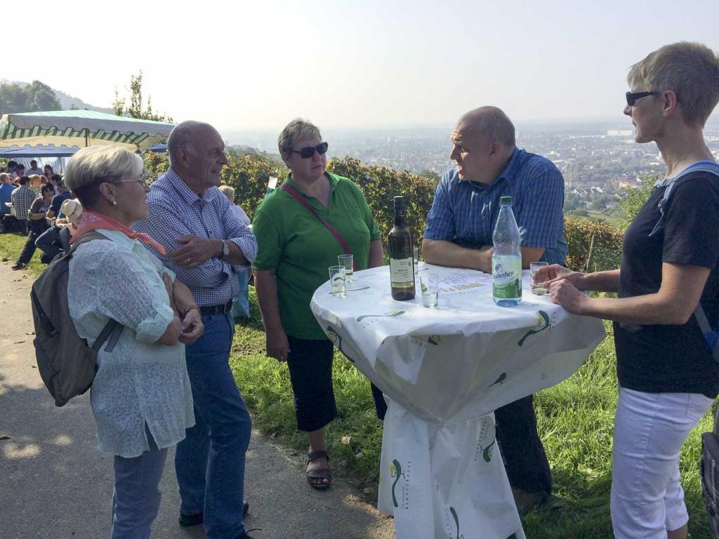 Hessische Bergstraße Wein und Stein Herbstwanderung