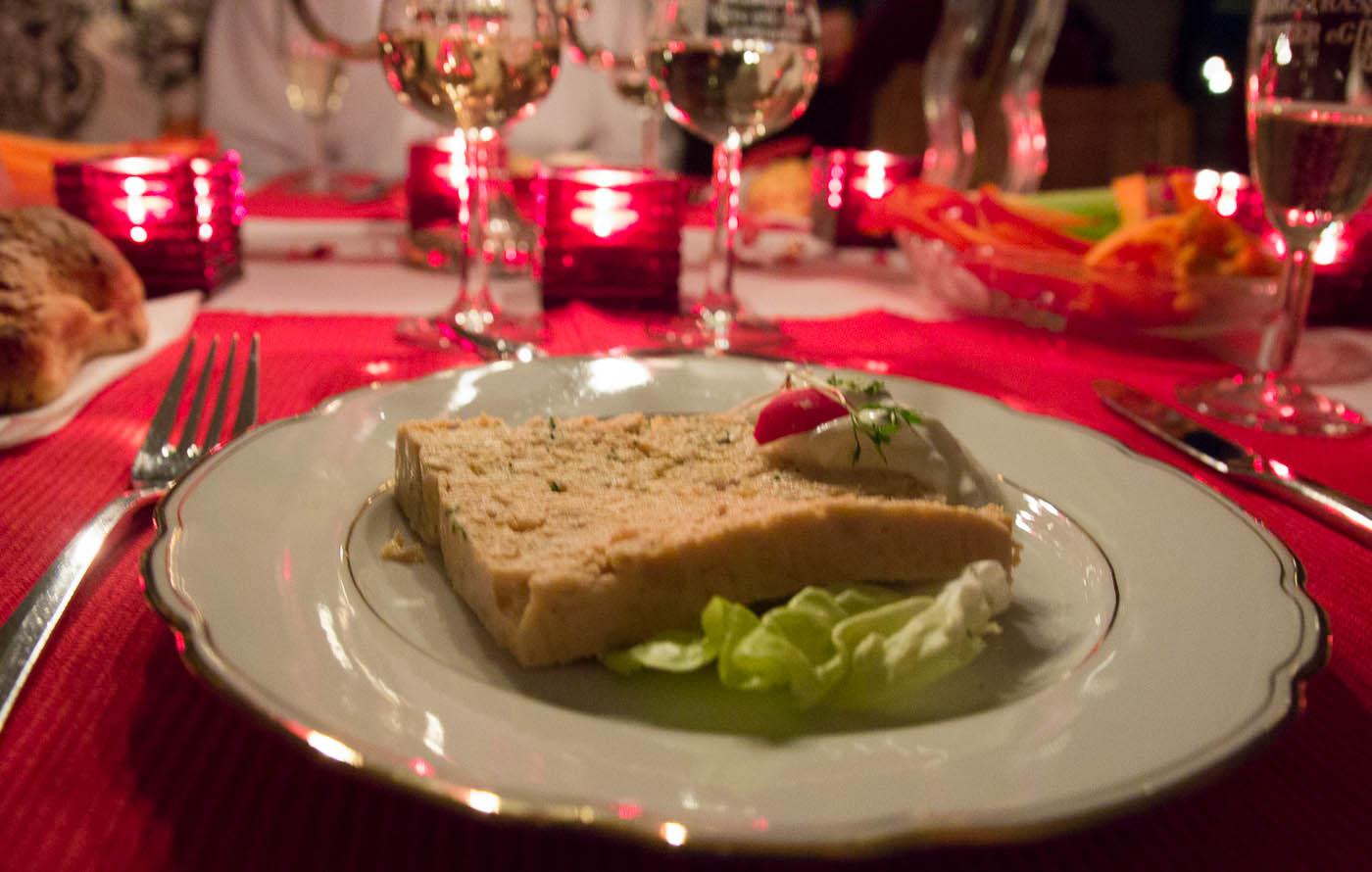 Lachs-Forellenpastete selbst gemacht - passt wunderbar zu Weißweinen