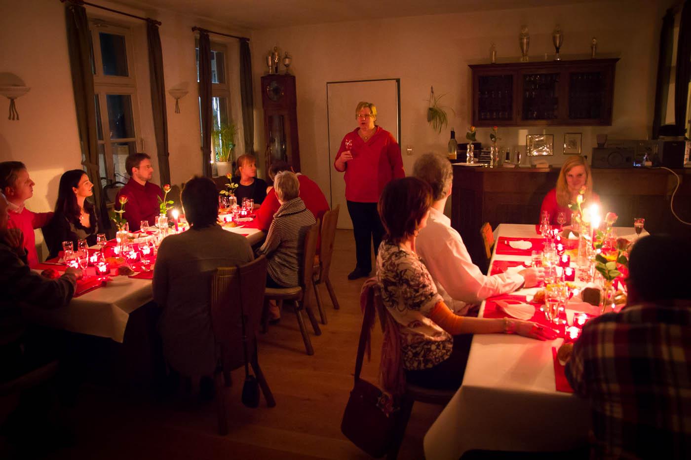 Weinprobe in Bensheim mit Christa Guth