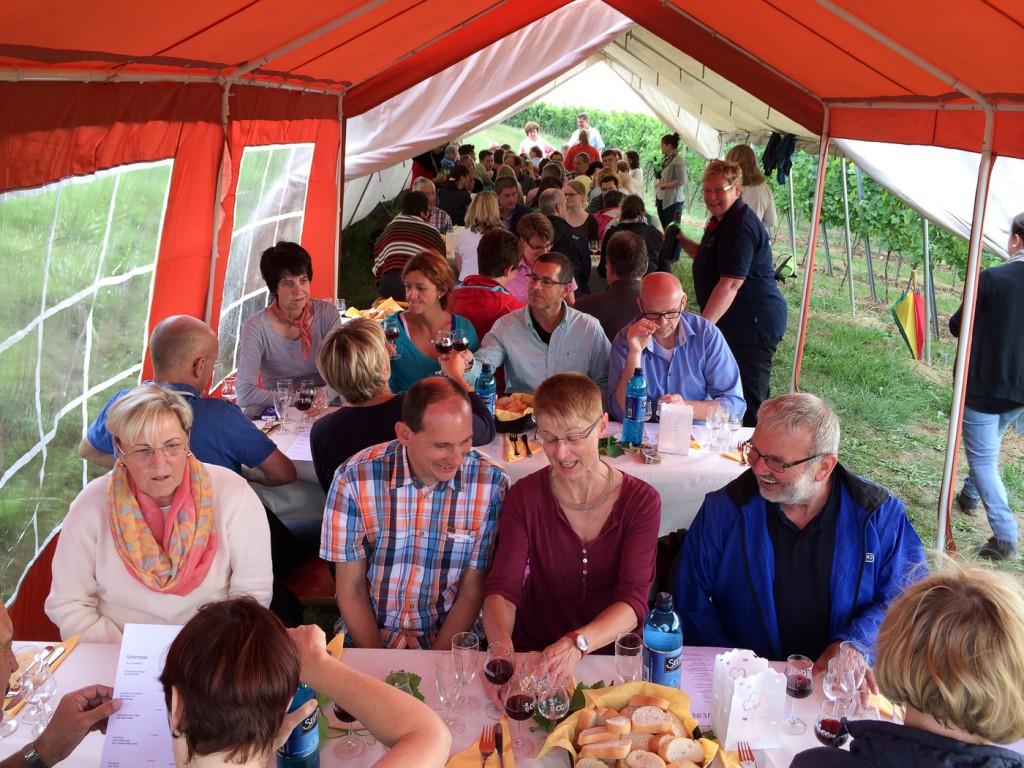 Weinprobe Schnitzel und Wein - Hessische Bergstraße