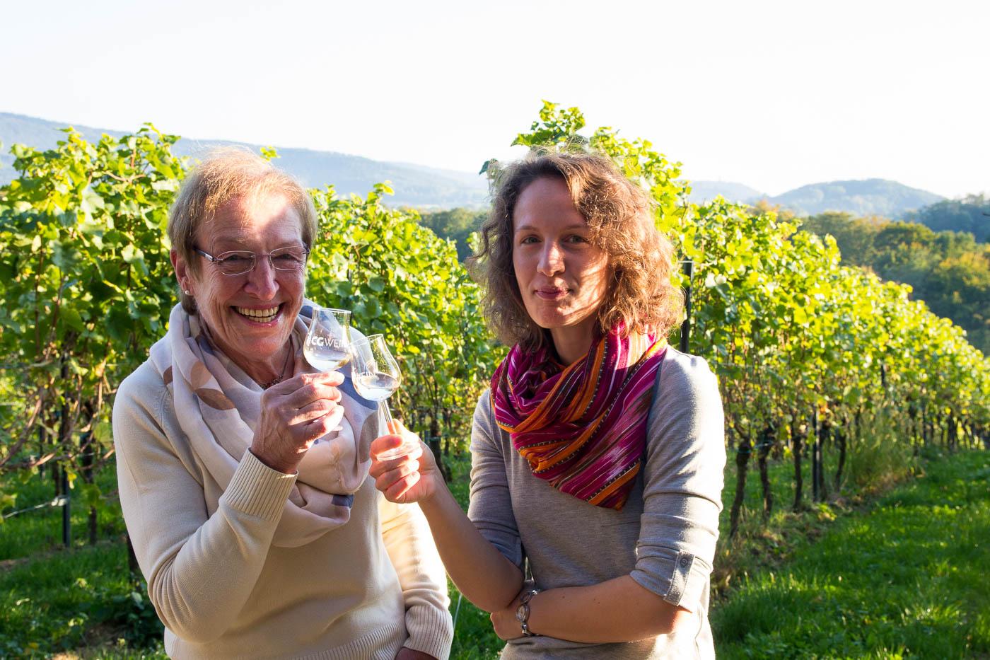 Weinprobe Hessische Bergstraße im Weinberg (9 von 24)