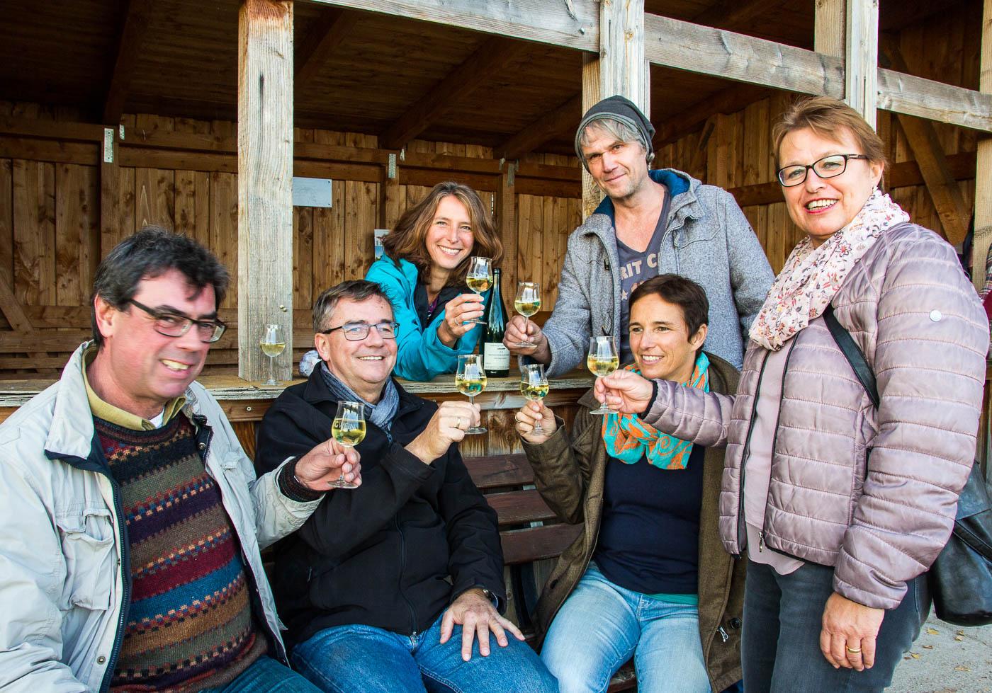 Weinprobe Hessische Bergstraße im Weinberg (12 von 24)