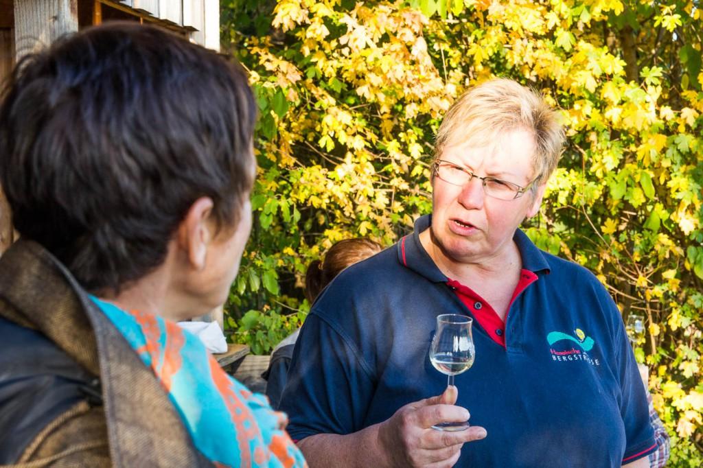 Weinprobe Hessische Bergstraße im Weinberg (8 von 24)